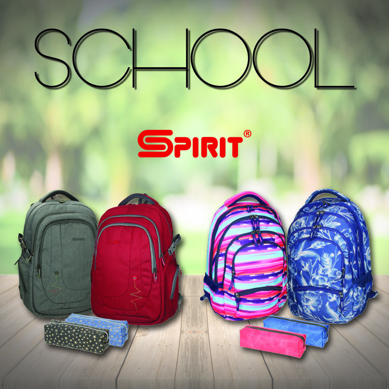 SPIRIT BAGS & BACKPACKS