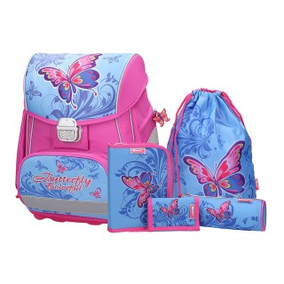 School bag MB set ''Butterfly'', 5 parts