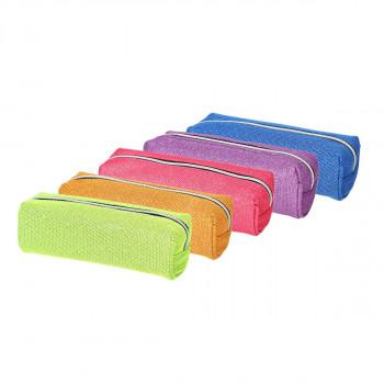 Pouch pencil case ''MILLA'', 5 assorted colours