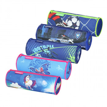 Pouch pencil case ''ALL STAR'', 5 assorted colours