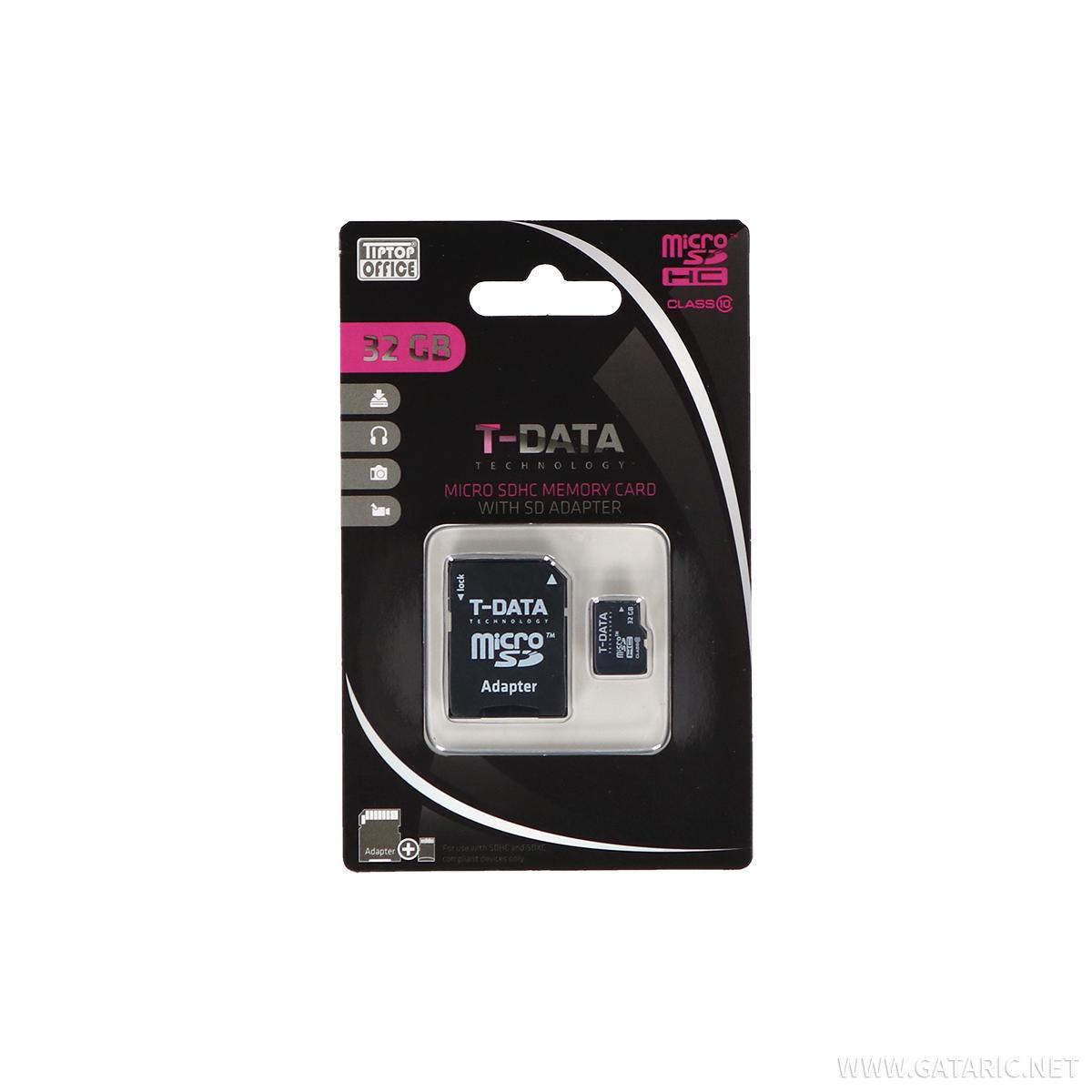 Memorijska kartica, 32GB + AD