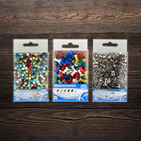 Thumb tacks and push pins