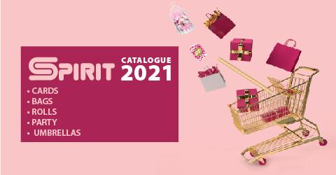 Grußkarten, Geschenktragetaschen, Geschenkrollen 2021