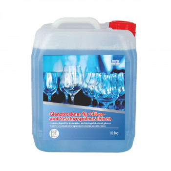Cleaning liquid for diswasher drying dishes and glasses 10kg