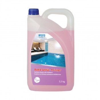 Sanitary cleaner with inhibitors 5,5L