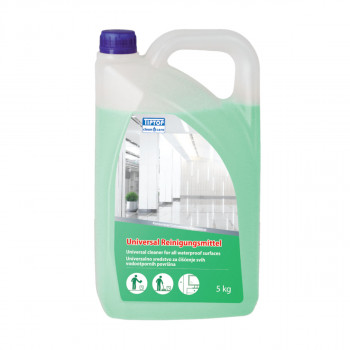 Concentrated universal cleaner for all waterproof surface 5L
