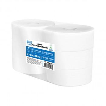 Jumbo toilet paper in rolls 180m