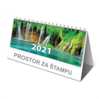 Kalendar stoni planer ''Priroda'', 7 listova