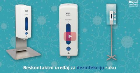 Senzorski uređaj za dezinfekciju ruku