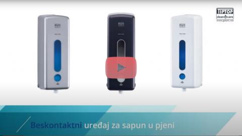 Beskontaktni senzorski uređaj za sapun