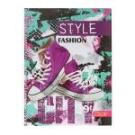 Kolegij blok sa spiralom ''City Fashion'', A4 dikto