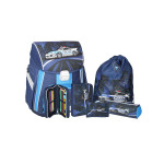 School bag set ''Police'', metal buckle