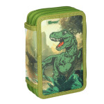 Empty pencil case ''T-REX'', 3 zipper