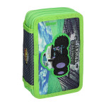 Pencil case 3D ''MONSTER TRUCK'', 3 zipper