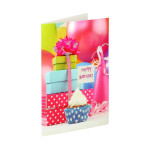 3D Greeting card ''Happy Birthday 16''