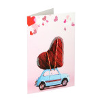3D Greeting card ''Love 02''