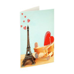 3D Greeting card ''Love 03''