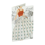 3D Greeting card ''Casual 04''