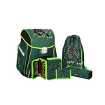 School bag set ''Panther', metal buckle