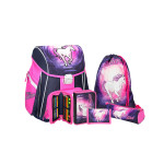 School bag set ''Magic Unicorn', metal buckle