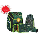 School bag set ''PANTHER''Prolight 5-Pcs (LED buckle)