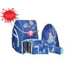 School bag set ''Mermaid'', LED lock buckle
