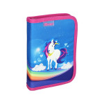 Pencil case 3D ''UNICORN'', 1-Zipper, 28-pcs