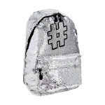 Backpack ''HASHTAG SILVER''