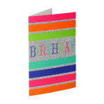 3D Greeting card ''Happy birthday 05''