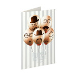 3D Greeting card ''Balloons''