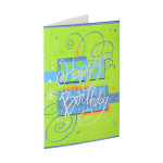 3D Greeting card ''Happy Birthday 14''