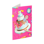 3D Greeting card ''Happy Birthday 13''