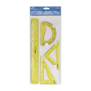 Ruler set ''Flexy'', 30cm