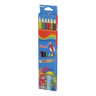 Wooden color pencils ''Classic'', 6pcs