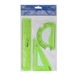 Ruler set ''Flexy'', 20cm