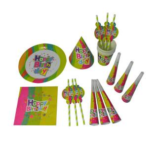 Rođendanski set ''Happy Birthday'', 6 delova