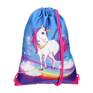 School bag set ''UNICORN'' Prolight 5-Pcs (LED buckle)