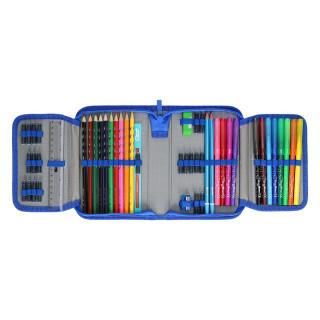 Pencil case 3D ''FOOTBALL'' 1-Zipper, 50-pcs