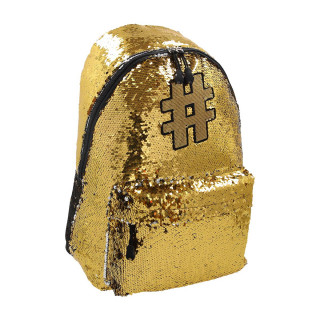 Backpack ''HASHTAG GOLD''