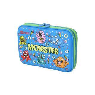 Prazna pernica 3D ''Monster'', 1 ziper, XL