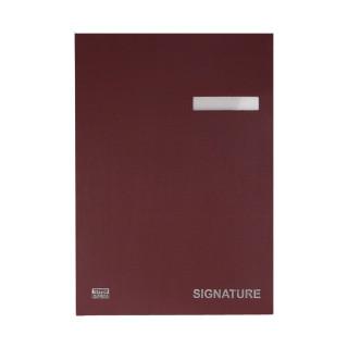 Unterschriftsmappe, 20 Fächer, 240 x 322mm
