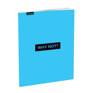 Schulheft A5, Softcover-Umschlag, Liniert, Quotes III, 52 Blatt
