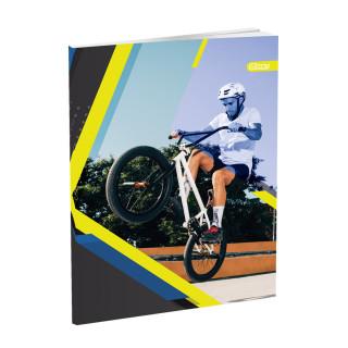 Schulheft A4, Softcover-Umschlag, Sport, Liniert, 52 Blatt