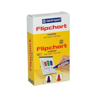 Flipchart marker, chisel tip