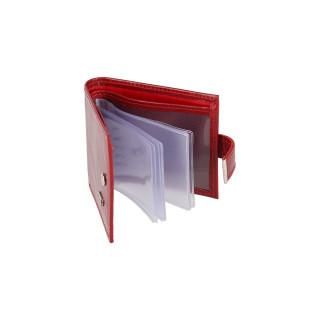 Falco kožna futrola za vizit karte, crvena