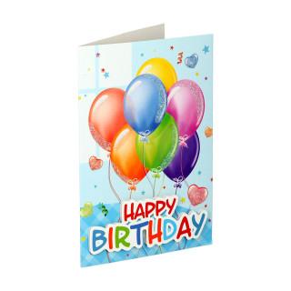 Čestitka 3D ''Happy birthday 04''