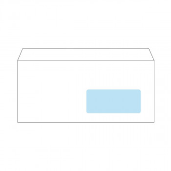 Envelope American Right Window, 110x230mm