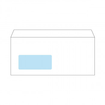 Envelope American Left Window, 110x230mm