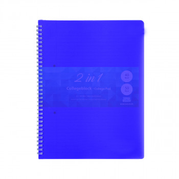 College Pad A5 Hard cover Neon 90 Sheet