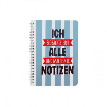 Spiral-Notizbuch ''Notizen'' A5